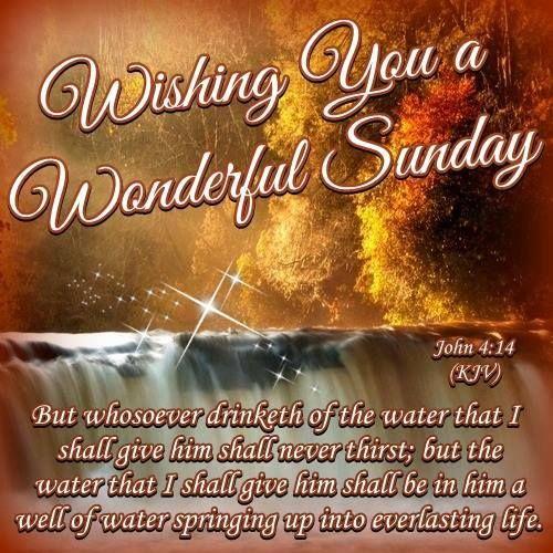 Sunday John 4 14